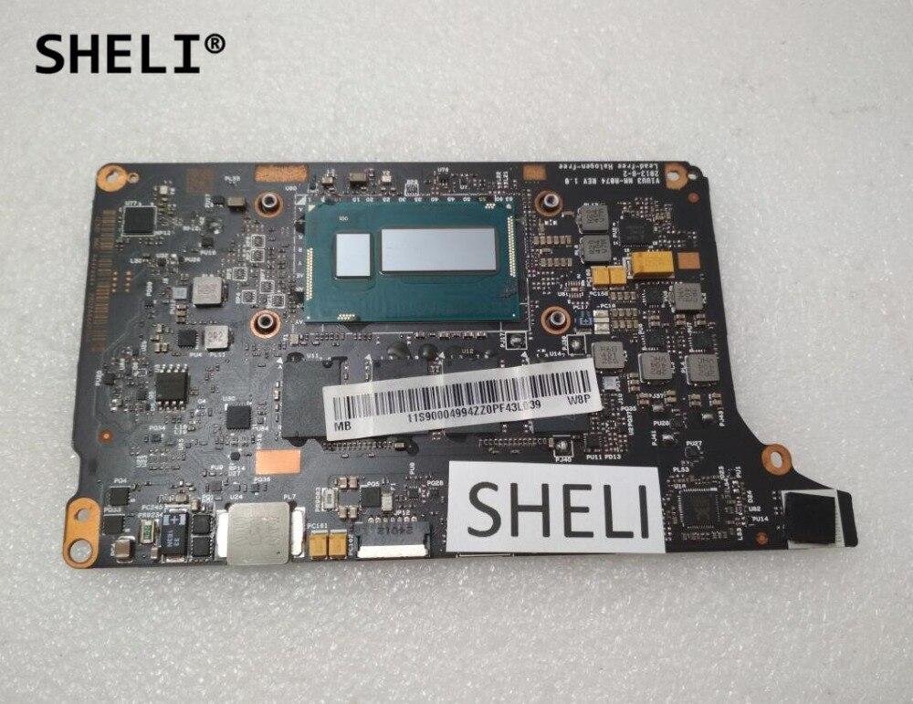 все цены на SHELI For Lenovo Yoga 2 Pro Motherboard with I7-4500U processor 8G VIUU3 NM-A074 90004994 онлайн