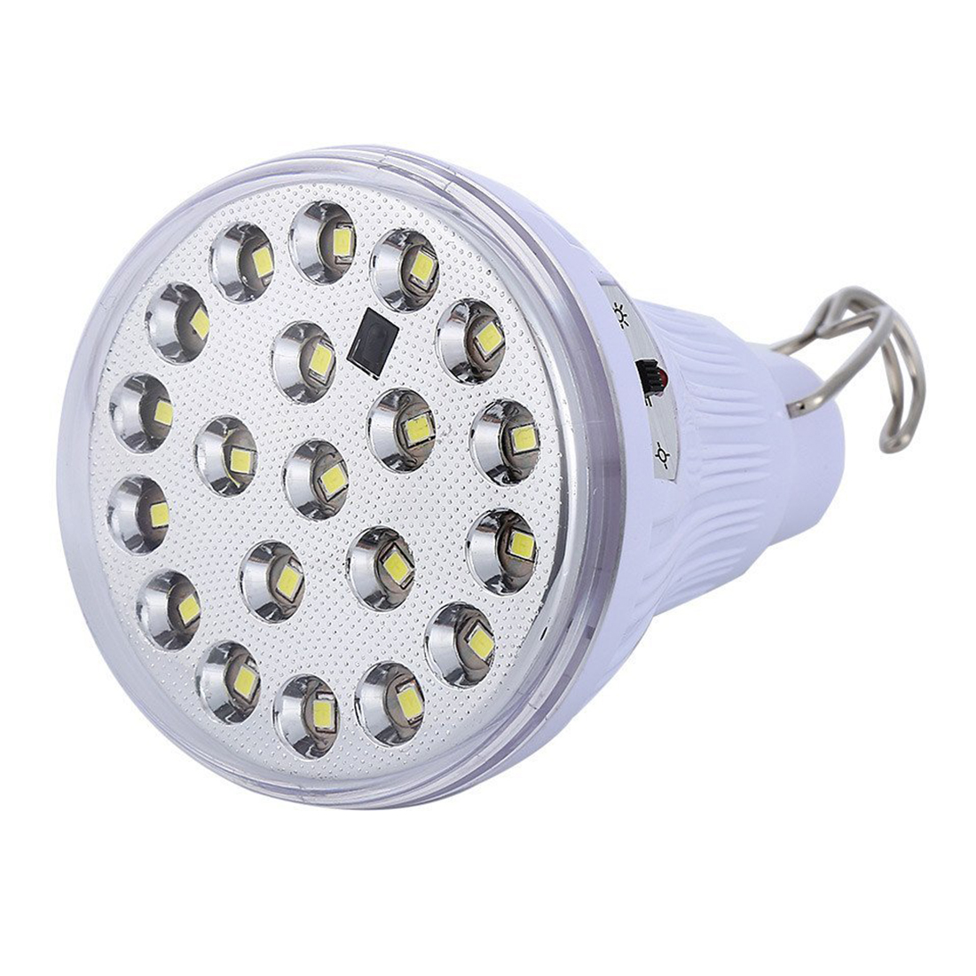 Solar Bulb Solar Panel Powered Lights DC6V 20 LED Bulb Hanging Lamp with Remote(Pack of 4) Drop Shopping
