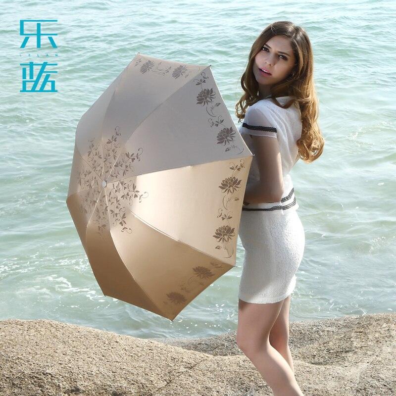free shipping blue super sun vinyl sun protection umbrella. Black Bedroom Furniture Sets. Home Design Ideas