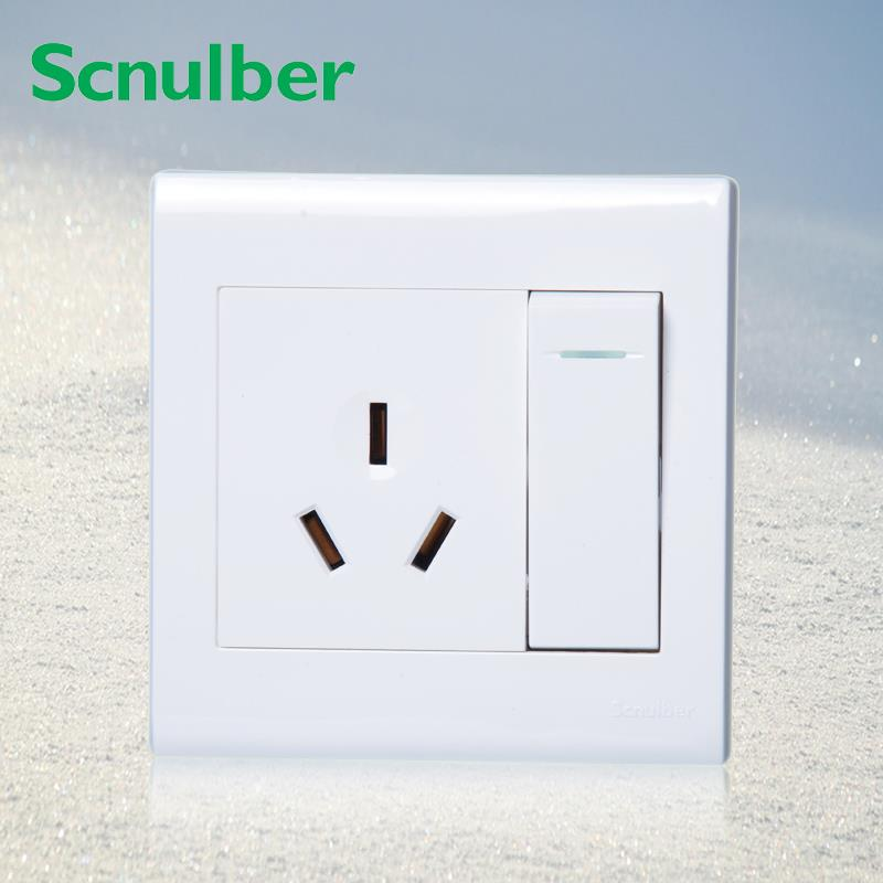 Au 3 Pole Wall Switch Outlet Socket And 1 Gang 2 Way 250v