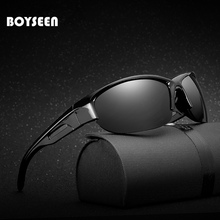 2017 Men's Polarized Sunglasses Aluminum Magnesium Frame Car Driving Sun Glasses