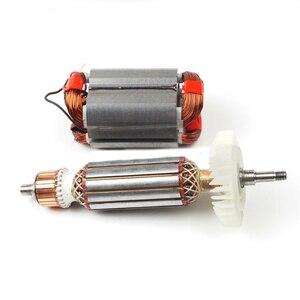 Image 3 - AC220 240V Armatür Elektrikli Açı değirmeni için Rotor stator MAKITA GA5030 GA4530 GA4030 GA5034 GA4534 GA4031 GA4030R GA4034