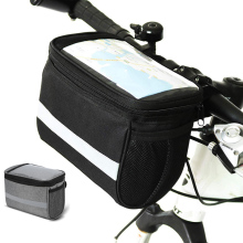 Bike Bags Insulated Front Bicycle Bag Waterproof Polyester Handlebar Basket Riding universal Accessories
