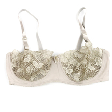 BC cup 70 75 80 85 90 95 large bra Embroidered thin cup section big size sexy temptation women's underwear bra Transparent lace