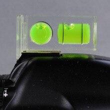 Двойной 2 оси спиртовой уровень уклономер на Камера типа «Горячий башмак для цифровой зеркальной камеры Canon Nikon Pentax DSLR