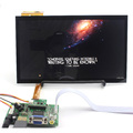 10 polegada 1366x768 IPS tela de Toque Capacitivo Tela LCD Monitor de Kit Auto Apoio Prioritário Para Raspberry Pi Monitor HDMI VGA USB