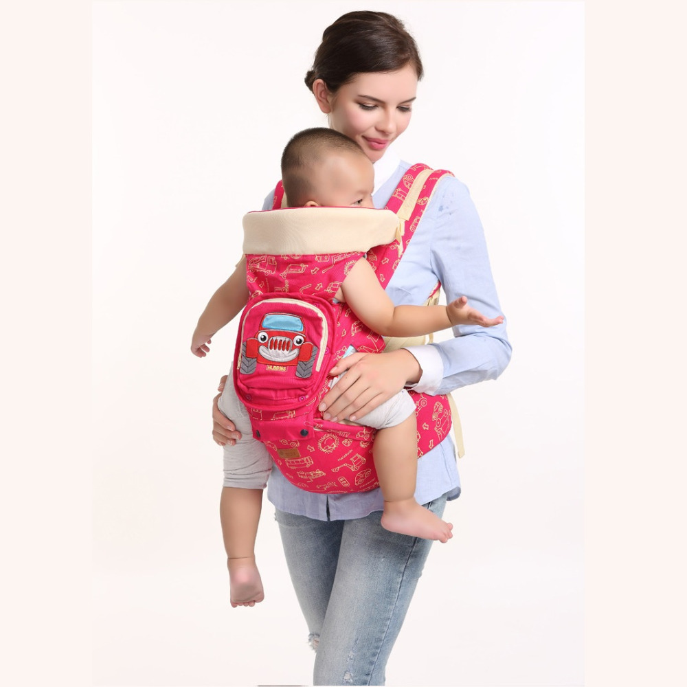 0-36 Months multifunctional backpacks hipseat for baby carriers 4 ways to use