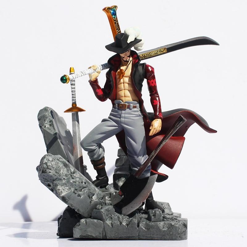 15cm One Piece Figure Mihawk Figure Action Mihawk Sword