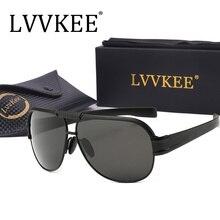 lvvkee new Pilot Sunglasses men Brand Designer Metal Hinge Retro Vintage Cool Fashion Top quality Goggle Luxury Sun Glasses