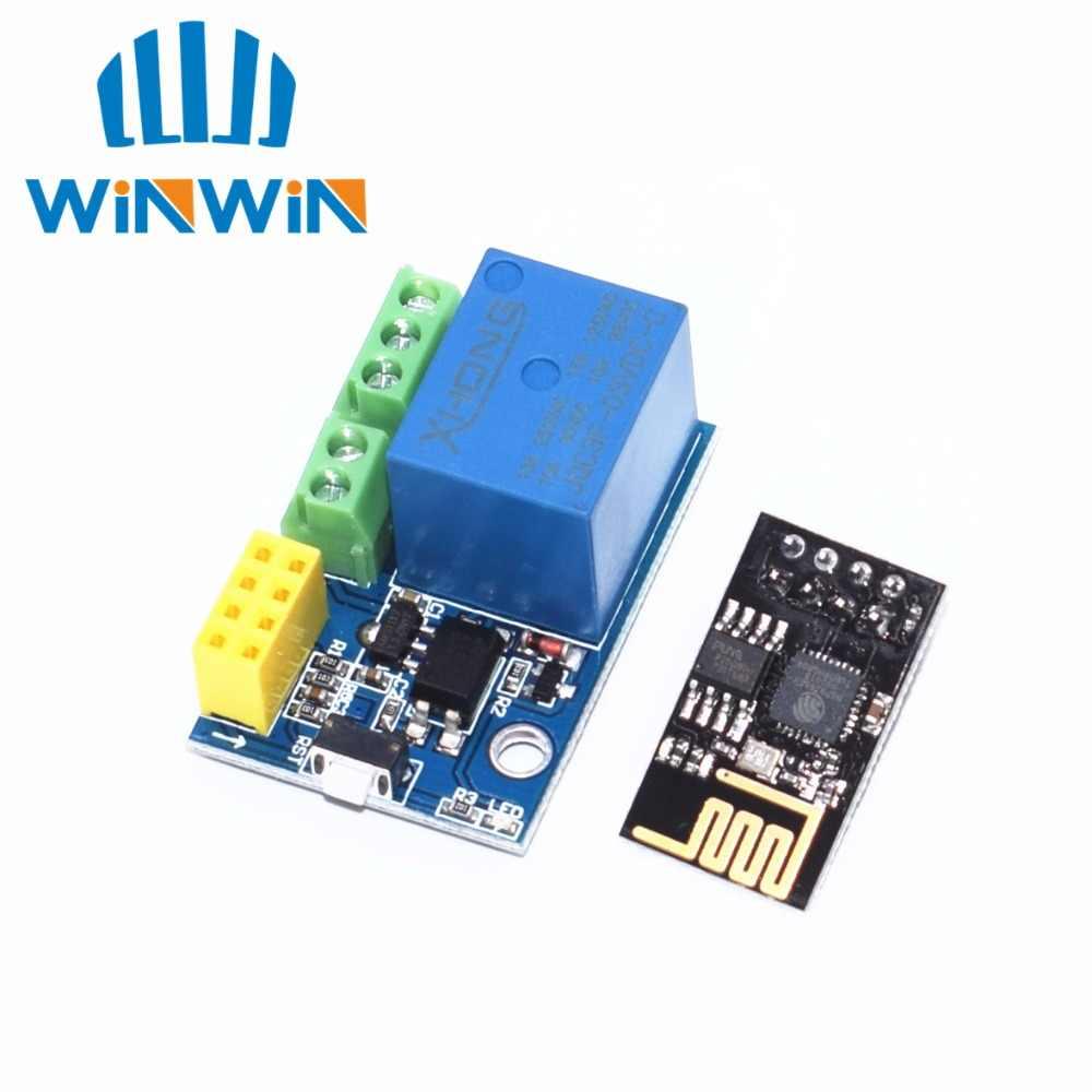 ESP8266 ESP-01 5 В релейный модуль Wi-Fi вещи умный дом дистанционное управление переключатель телефон приложение Беспроводной Wi-Fi модуль для ARDUINO