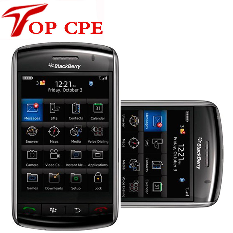 Blackberry storm2 9550 wifi cellphone drop shipping Wholesale price 100 Original Unlocked Refurbished