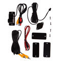 2 in 1 Car Parking Reversing Radar Rear view backup Camera Universal  All Model E#A
