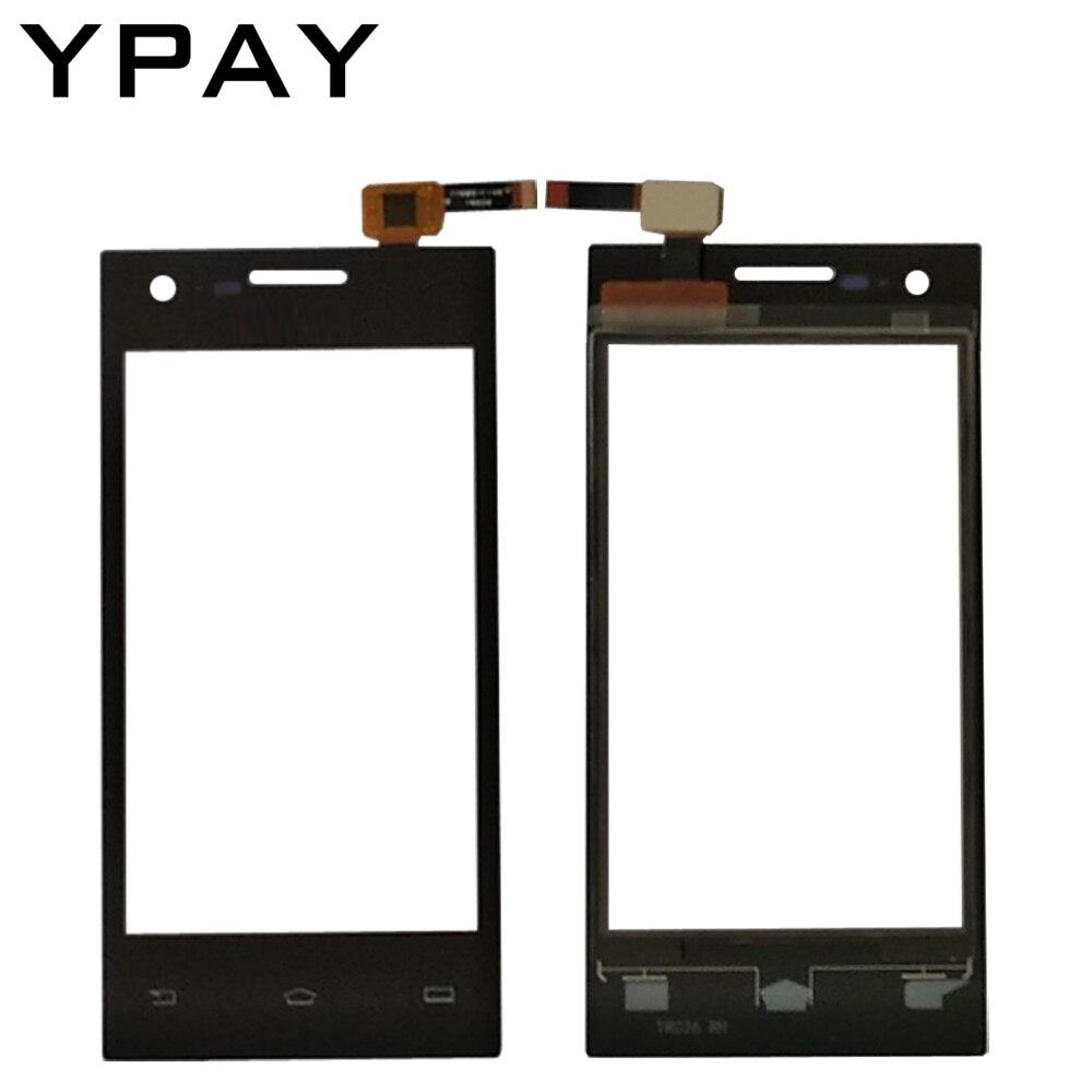 YPAY 4.0 ''téléphone portable Avant écran tactile Pour philips S309 Tactile En Verre panneau numériseur Capteur Capacitif sans adhésif + Lingettes