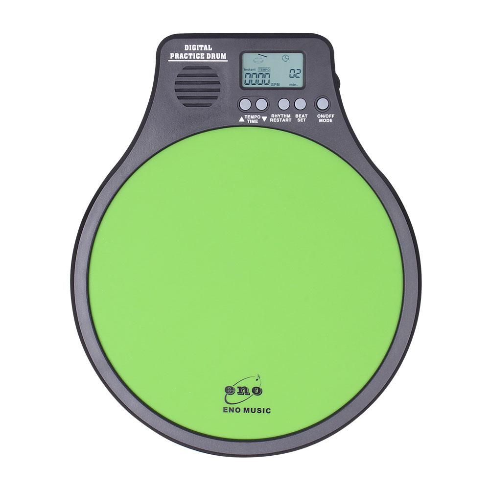 3 in 1 Practice Dumb Drum Pad with Metronome Counting Speed Detection Mode High Quality Digital