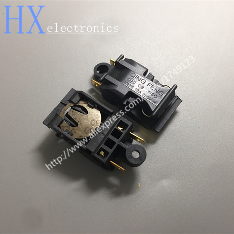 Free shipping 2PCS 13A XE-3 JB-01E Switch Electric Kettle, Thermostat Switch Steam Medium Kitchen Appliance Parts