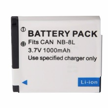 NB-8L Battery NB8L 8L Batteries For Canon PowerShot A3300 A3200 A3100 A3000 A2200 A1200 IS