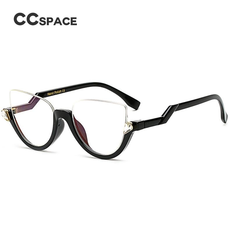 Crystal Glasses Frames Fashion