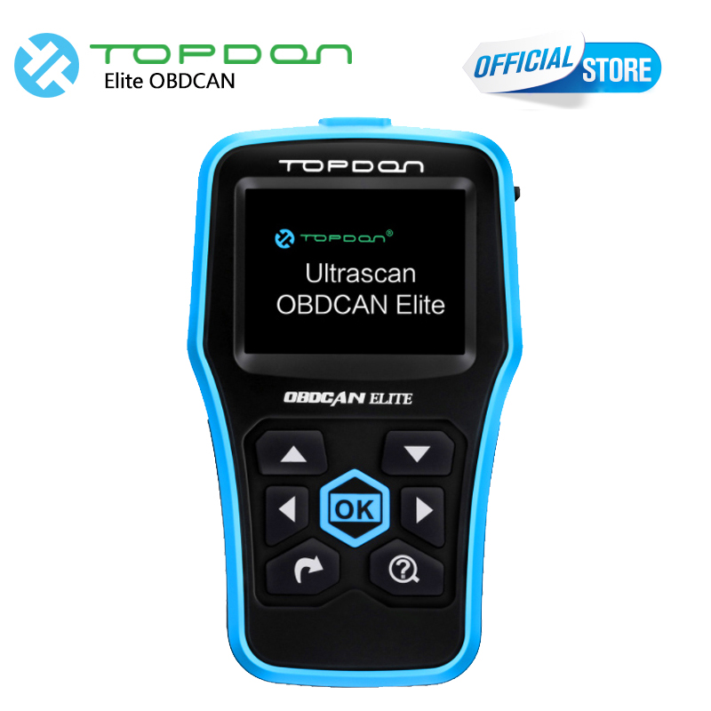TOPDON OBD2 Scanner ABS/SRS scanner  Ultrascan OBDCAN ELITE as AL619/ ML619 EOBD/OBD2 Full function as CR6011