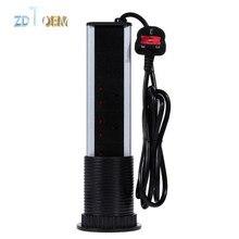 ZDTOEM 220 V 16A 3 Tomada 2 USB Tomada Elétrica PULL POP UP Tomada De Mesa Retrátil para Bancadas Da Cozinha Bancada REINO UNIDO