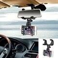 Роскошные Универсальный Авто Автомобильный Держатель Телефона Зеркало Заднего Вида Горе Стенд колыбель для Сотового Телефона GPS PDA MP3 MP4 Прочный Лучший качество