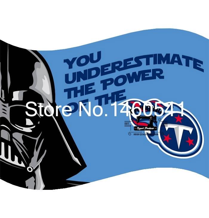 Tennessee Titans War Flag 3ft X 5ft Polyester Nfl Banner