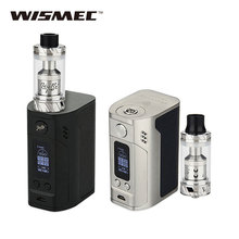 In Stock WISMEC RX300 TC Kit 300W for Reux Atomizer 6ml 4 x 18650 Battery No Included VS only RX300 TC Mod BOX Vape E-cigarette