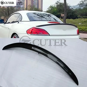 E89 Z4 Carbon Fiber Auto Car Rear Wings rear Spoiler For BMW E89 Z4 rear Trunk Lip Spoiler 3D style 09-16 image