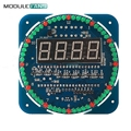 DS1302 Digital LED Display Module Alarm Electronic Digital Clock LED Temperature Display DIY Kit SCM Learning Board 5V Rotating