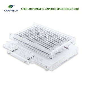 Image 2 - Hight quality CN204S hight quality Semi Automatic capsule filling machine manual capsule filler size 000   4.