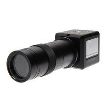 Высокая Разрешение 100X цифровой промышленный микроскоп Камера BNC AV ТВ видео зум с креплением промышленности CCD Камера