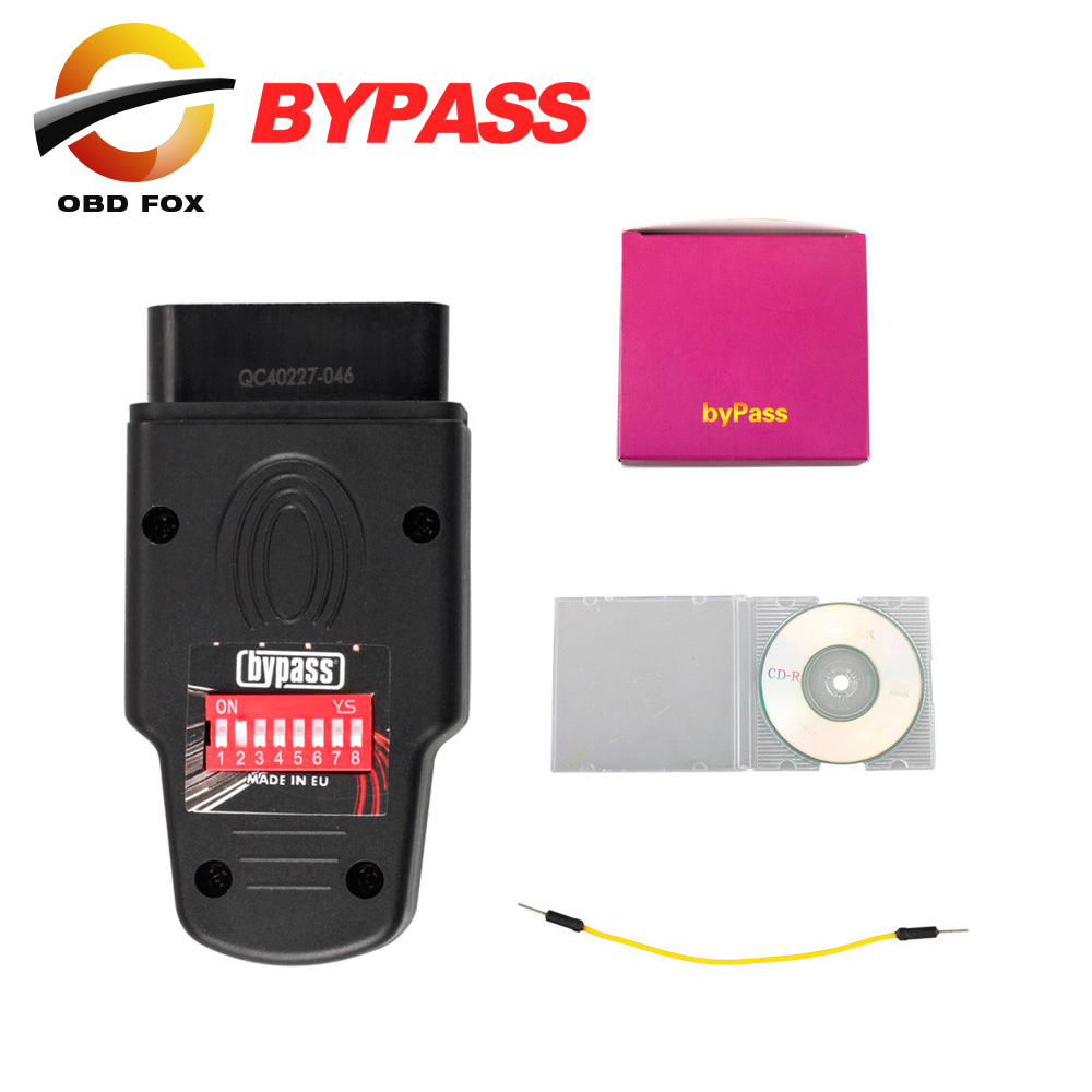 US $79 0 |Immo Bypass Device BYPASS ECU Unlock Immobilizer for vag ECU  Unlock car Immobilizer Tool Key Programmer DHL free-in Car Diagnostic  Cables &