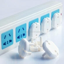 10pcs EU Power Socket Electrical Outlet Baby Children Safety Guard Protection #HC6U# Drop shipping