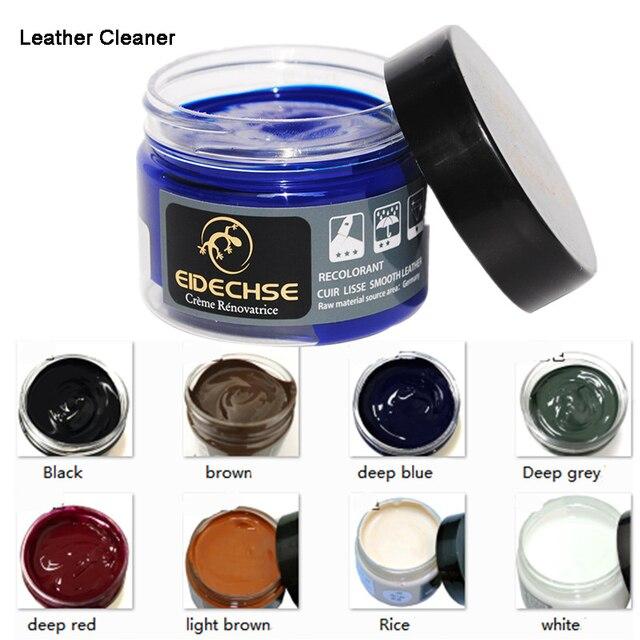 Leather Refurbishing Cleaner Car Sofa Leather Shoe Refurbishing Agent Descaling Cleaning Cream All Purpose Repair Tool