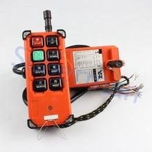 AC 220 V 380 V 110 V DC 12 V 24 V regulador alejado Industrial interruptores de Control de Elevación de la Grúa de la Grúa de Elevación 1 transmisor + 1 receptor