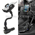 Car Cigarette Lighter Socket 2 Charging USB Port Charger Mount Holder For iPhone 4 5 6 plus galaxy S3 S4 S5 S6 S7 note 3 4 5 7