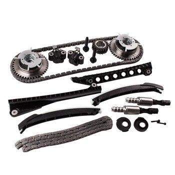 Kit Corrente do sincronismo Com Os Phasers Cam Set + Parafuso de Vedação da válvula Solenóide Para Ford Lincoln