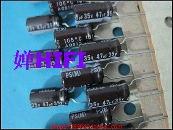 2019 hot sale 20PCS/50PCS Japan nichicon original PS electrolytic capacitor 35v47uf 6x11 free shipping 50pcs japan nichicon original ps electrolytic capacitor 35v47uf 6x11 free shipping