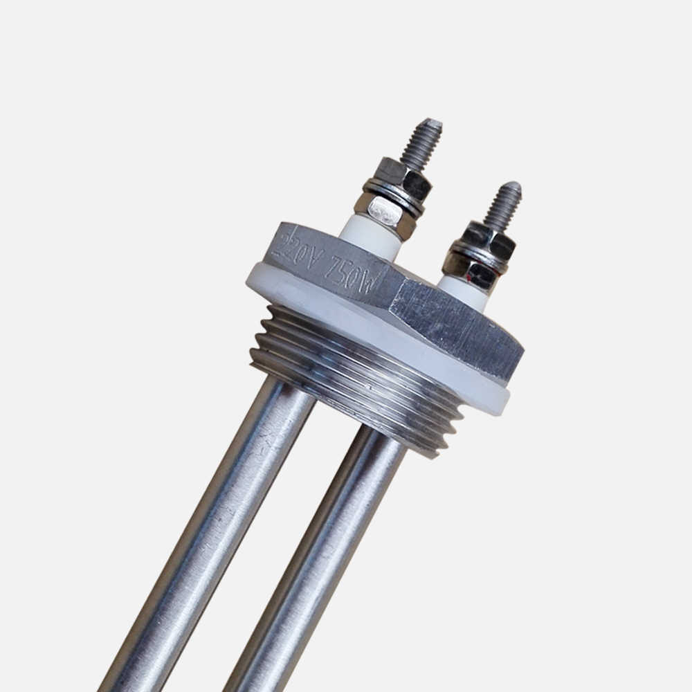 220 v 750 w chauffe-eau à Immersion élément chauffant tubulaire bouchon à vis avec 1 pouce de filetage BSP pour le chauffage de l'eau