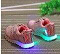 2016 LED marca de sapatos meninas e meninos sapatilha crianças sapatos frete grátis