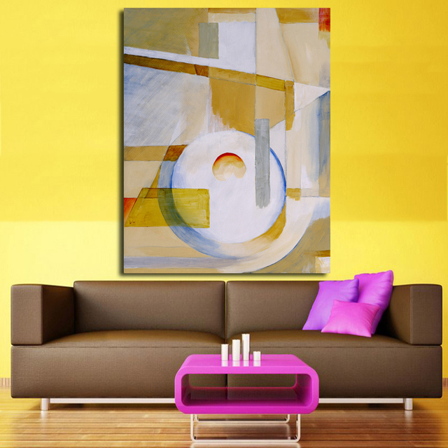 Painting Abstract Art Canvas Wall art Happy home On canvas Original ...