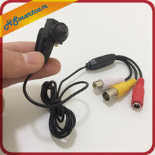 HD 3.7mm Pinhole Lens MINI AHD Cam micro 720P AV BNC Camera For AHD 720P 1080P DVR Kits CCTV