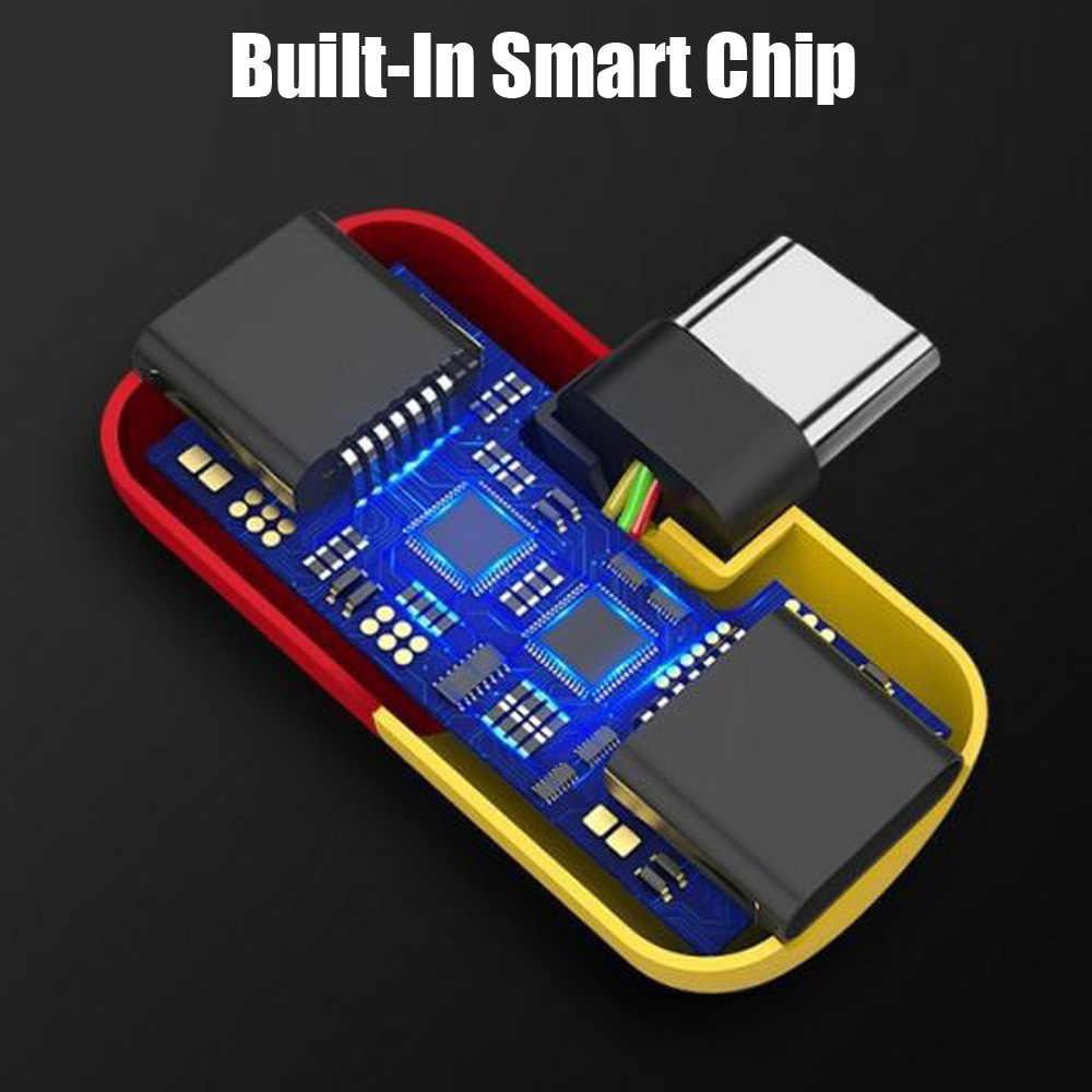 Olhveitra Тип C до 3,5 мм двойной разъем для наушников разветвитель AUX аудио конвертер адаптер для Xiaomi samsung huawei htc USB C зарядки