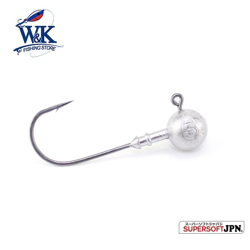 PRO Fishing Hooks for Rock Fishing 5g 6pcs/pk Jig Head Small Lead Fishing Hooks