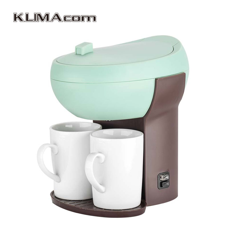 Drip coffee-maker Coffee Pod Machine, Automatic With Simple Operation, Coffee Maker For Home Use Pink/Green/White 220-240V american coffee maker uses a drip automatic machine