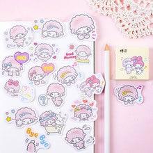 45 Pcs/box kawaii small lamb paper stickers DIY diary decoration album scrapbooking sticker недорого