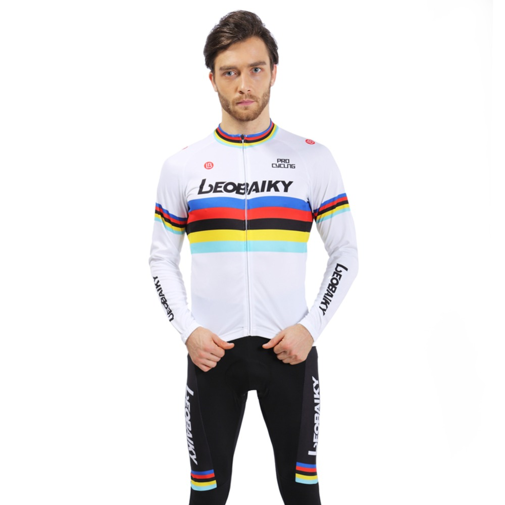 LEOBAIKY hot breathable Cycling Sets Bike jersey sets Cycling clothing long sleeve bike bicycle BTM suit jersey + pants sets 176 hot cycling jerseys magnolia flowers hot cycling jersey 2017s anti pilling female adequate quality sleeve cycling clothing f