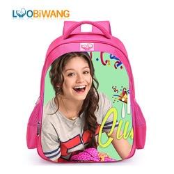 LUOBIWANG Soy Luna szkoły plecaki słynnej wykonane na zamówienie TV Show tornister dla nastolatek dziewczęca torba podróżna Plecak Szkolny 1