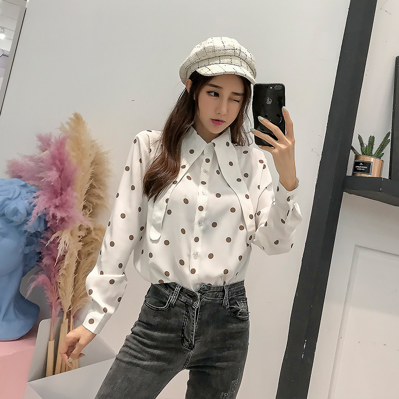 Back To Search Resultswomen's Clothing Fashion Style Women Casual Bow Bandage Blouse Ladies O Neck Long Sleeve Tops And Blouse 2019 New Fashion Elegant Office Lady Work Shirts