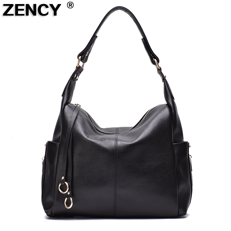 2018 Fashion Tassels First Layer Genuine Cow Leather Handbag Natural Cowhide Women Ladies Shoulder Cross body Messenger Tote Bag women shoulder bag cossbody handbag genuine first layer of cow leather 2017 korean diamond lattice chain women messenger bag