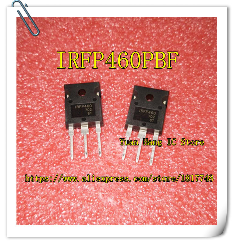 10PCS/LOT IRFP460PBF IRFP460 500V N-Channel MOSFET TO-247